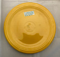 "VINTAGE GENUINE FIESTA USA 12"" YELLOW PLATTER"