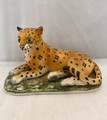 VINTAGE LEFTON CHINA HANDPAINTED CHEETAH #KW6703