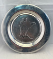 "VINTAGE RWP  11"" PEWTER PLATE WITH WEST VIRGINIA SOLDIER USA WILTON ARMETALE"