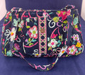 """NEW WITH TAG VERA BRADLEY """"RIBBONS"""" EDIE SATCHEL BAG FOR BREAST CANCER AWARENESS"""