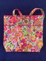 """NEW WITH TAGS VERA BRADLEY """"CLEMENTINE"""" TOTE MEDIUM SIZED PURSE"""