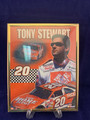 NEW ©2000 STARLINE INC. FRAMED POSTER OF TONY STEWART NASCAR DRIVER PRINTED IN USA