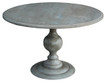 4' Diameter Robinson Pedestal table in Grey alder