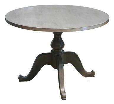 "Size shown:  48"" diameter Wood Shown:  Knotty Alder Finish shown:  #392"