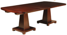 Double Dale Pedestal Table