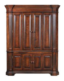 Corner Cabinet with Bi-Fold Doors