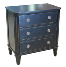 3-Drawer Bedside Chest