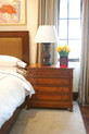 Bed Frame & Bedside Chest