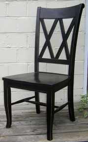 #20 Dbl. X back side chair