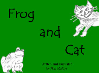 Frog and Cat is a fun limerick with pictures to color. Great for the big and little kid!