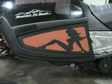 M Series Side Vents Trucker Chick ABS