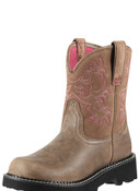 Ariat Ladies Fatbaby Brown Bomber  - 10000822