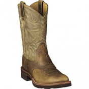 Ariat Heritage W-Toe Western Boots - Earth  - 10002559