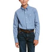 Ariat Kids' Uchino Stretch Classic Fit Shirt - 10028157