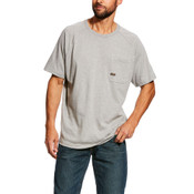 Ariat Rebar™ Cottonstrong Short Sleeve Crewneck T-Shirt  - 10025373