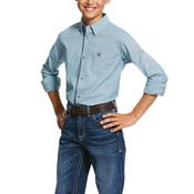 Ariat Kids' Pro Series Novato Stretch Classic Fit Shirt - 10030605