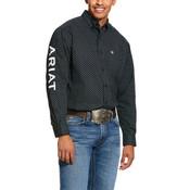 Ariat Men's Bradley Team Print Stretch Classic Fit Shirt
