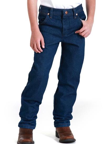 a97919b6 Wrangler Boys Cowboy Cut Original Fit Jeans - 13MWZJP. Price: $19.99. Image  1