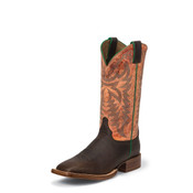 JUSTIN MEN'S GRIZZLY CHOCOLATE BENT RAIL® CPX BOOTS - 2854