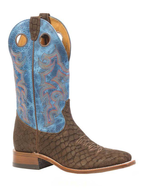 9ca807013ad Boulet Mens Large Square Toe Cowboy Boot - 3203