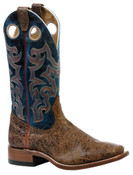 Boulet Mens Wide Square Toe Cowboy Boot - 4295