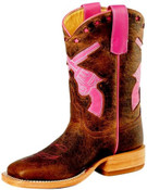 Anderson Bean Kids - Toast Bison Boots- 7011