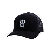 BEX Men's Black Steel Baseball Cap- BBSH