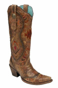 Corral Tribal Cognac Boot