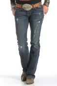Cruel Girl Women's Indigo Abby Jeans- CB41354071