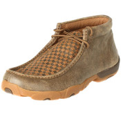 Men's Twisted X Bomber/Tan Patchwork Driving Mocs - MDM0033