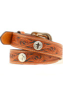 M & F Western Boys Tooled Belt - N4413408