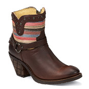 Justin Women's Brown Casual Fashion Boots - MSL103