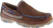 Twisted X Youth Blue Driving Moccasins - YDMS01