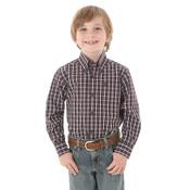 Boy's George Strait Button-Up Shirt - BGSR285