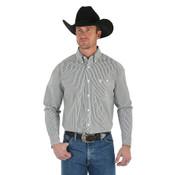 Men's George Strait Long Sleeve Button Down Striped Shirt - MGSX311