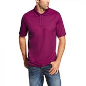 Ariat Men's Damsel Violet Heat Series Tek Polo Shirt - 10019086