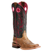 Ariat Women's Chute Out Croc print Western Boots  - 10021628