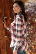 Cruel Girl Boyfriend Fit Peached Cotton Shirt   - CTW7024003