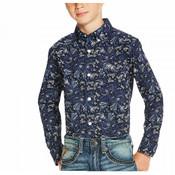 Ariat Boys' Paisley Patterned Long Sleeve Shirt  - 10020357