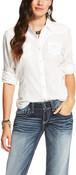 Ariat Women's White Butte Snap Shirt - 10020475