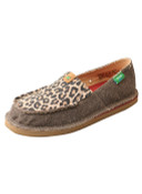 Women's ECO TWX Casual Loafer – Dust/Leopard - WCL0001
