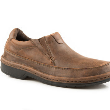 c7412c815b5 Roper Mens Casual Slip On Super Flex O Sole Shoe - 0902017500070BR