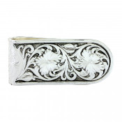 Antique Sheridan Rose Money Clip - MCL26RTS