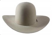 American Hat Company 10X Open Crown Silverbelly 4.5 Brim - 10-X6-0SIL