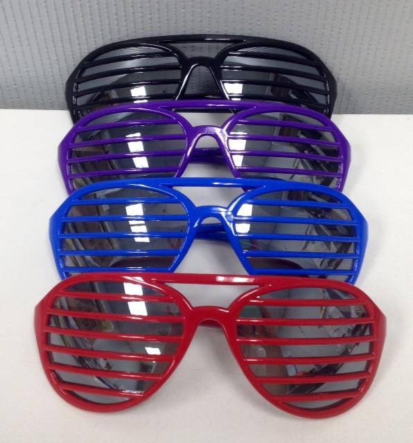 275edf44b56 NV-1403DK - Shutter Shade Novelty Glasses (12pcs disp) - Nu-Image ...