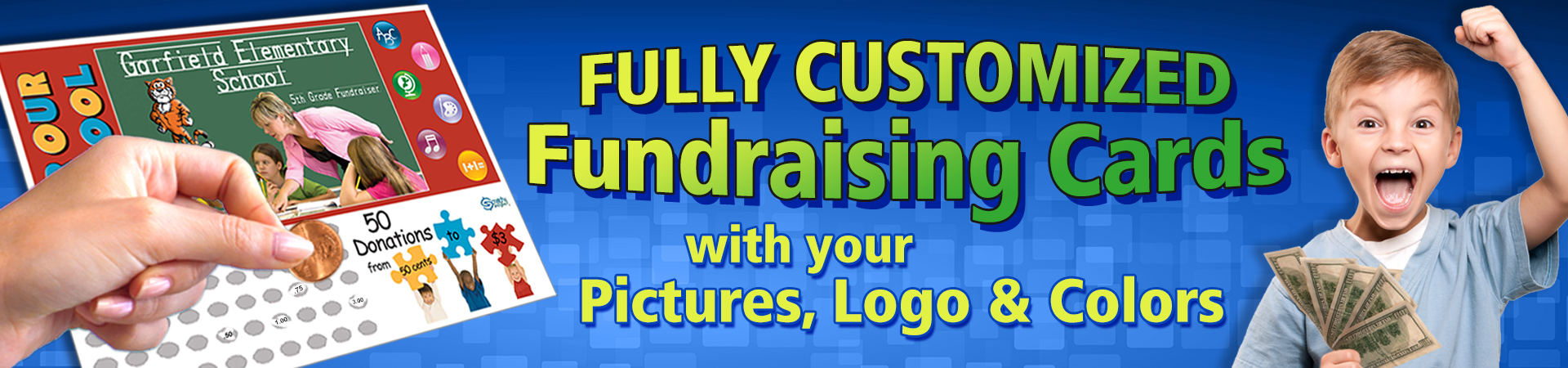 Customized Fundraising Cards