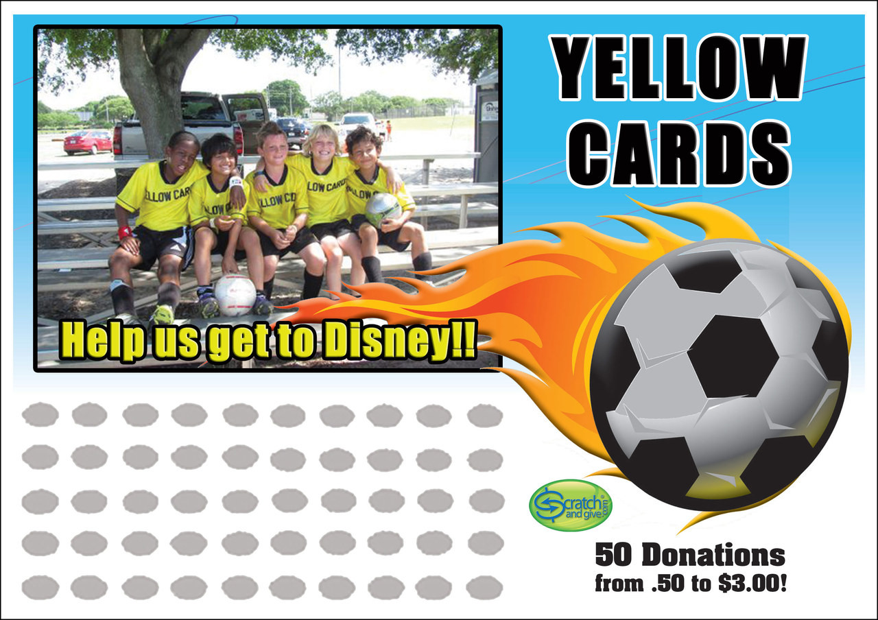 soccer fundraising ideas | scratch off cards | fundraising
