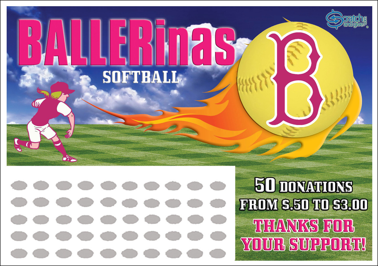 softball fundraising ideas | scratch off cards | fundraising