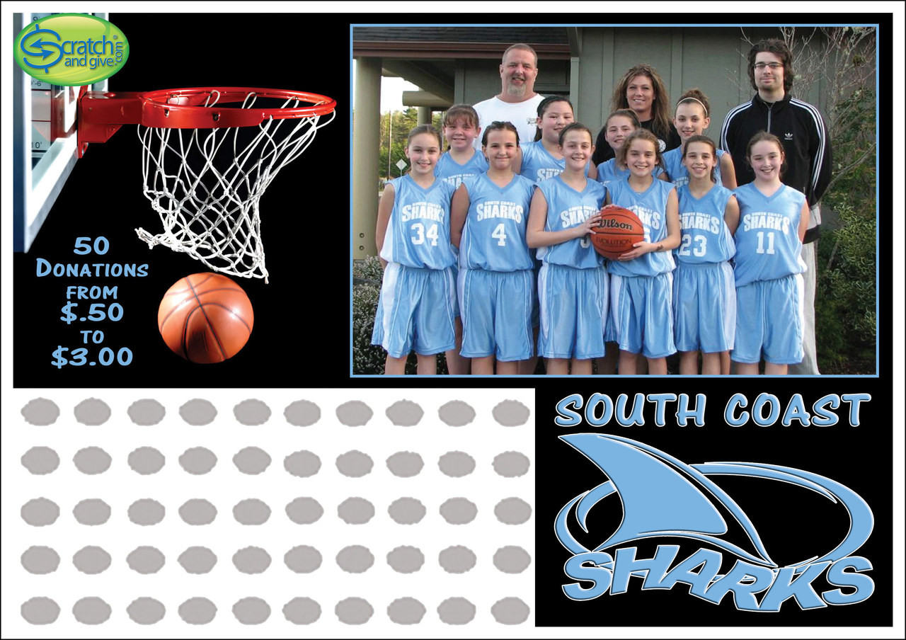 basketball fundraising ideas | scratch off cards | fundraising