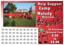 Band Scratch off Fundraiser Card will raise $100-$10,000.  Scratch off Card, Scratch off Fundraiser, Fundraising, School, Sports, High School, Middle School, Music, Save the Arts.